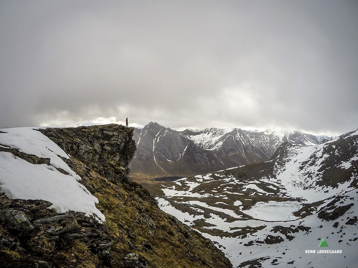 Fjellandslap fra Høgfjellet området