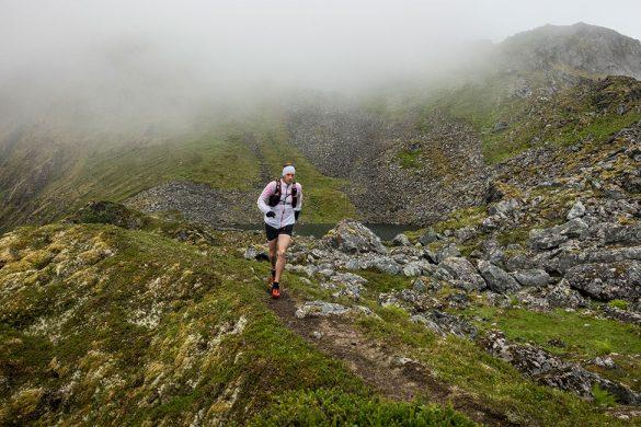 Måtte løpe i 400-500 meters høydene, hvor det ennå var god sikte.