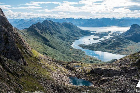 Fjelltur ved hytte i Nordnorge video