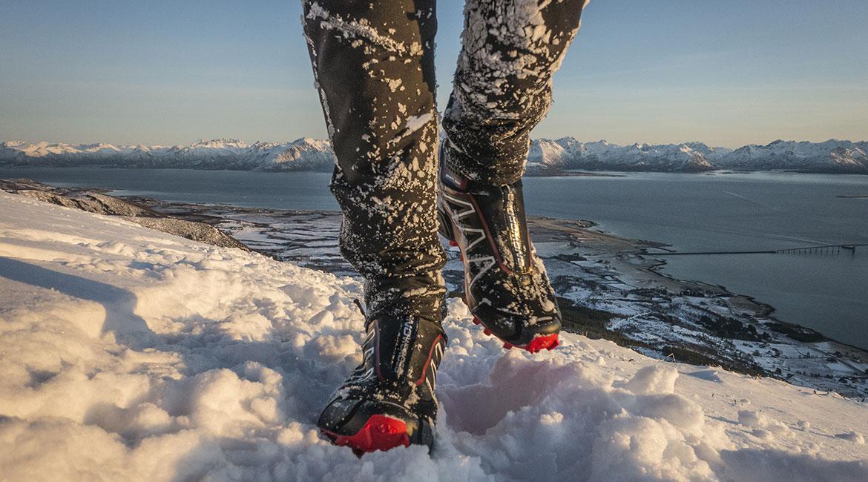 Test av Snowcross sko fra Salomon.