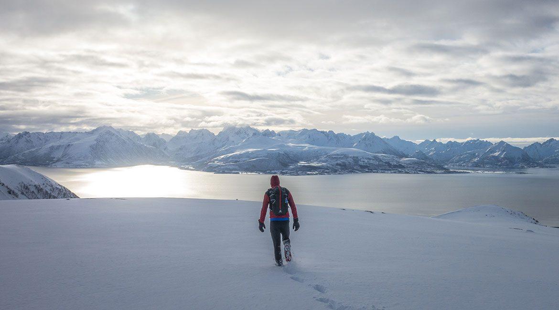Lauklitinden med utsikt til Hinnøya