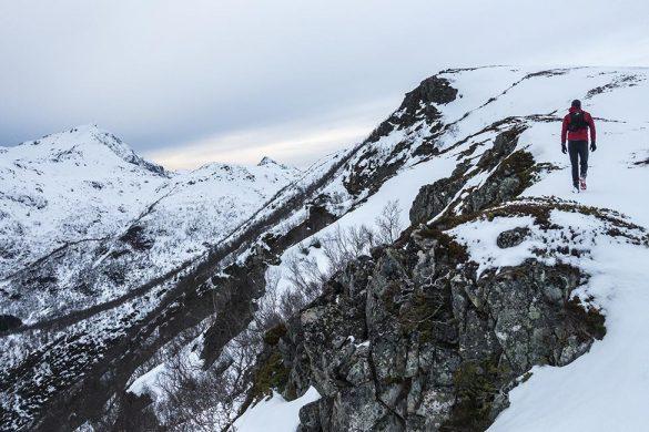 På vei opp til toppen Risaksla