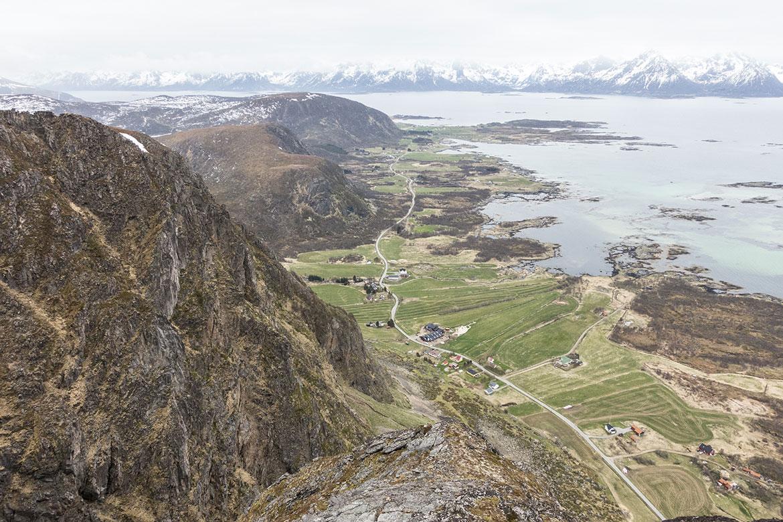 Utsikten fra Pallheia
