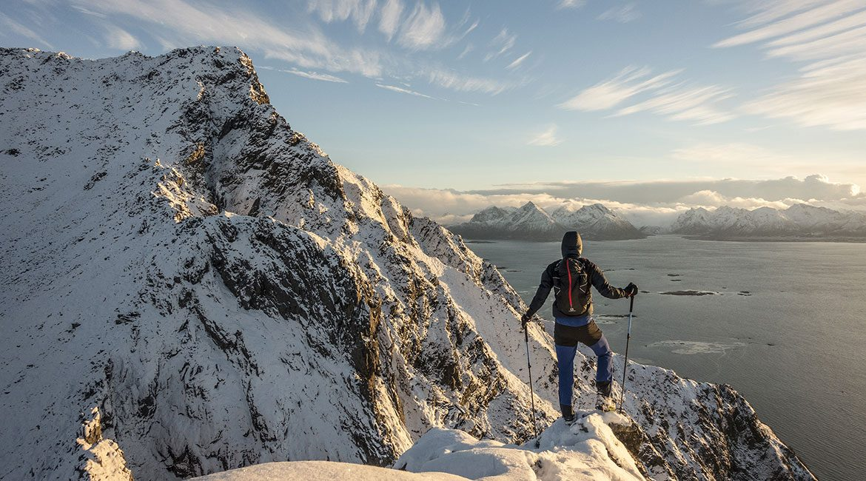 Nyter utsikten på yttersiden av Hadseløya - Kenn Løkkegaard
