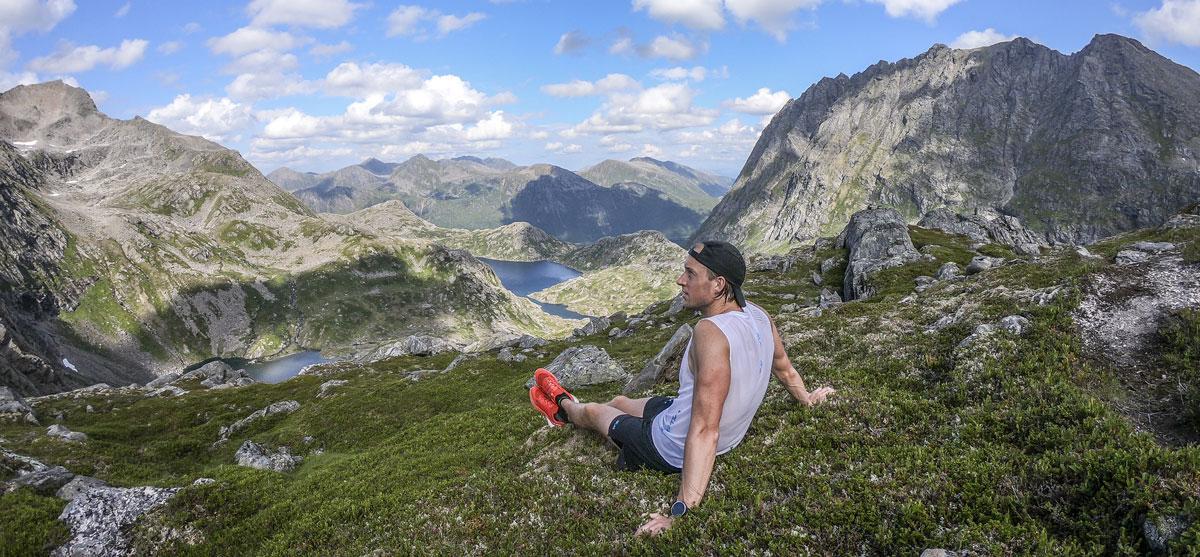 Fjelløping på Hinnøya - Kenn Løkkegaard