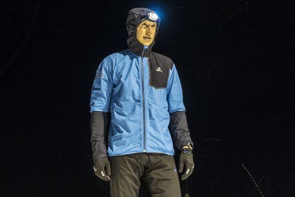 Kenn Løkkegaard med Salomon Bonatti Pro løpejakke