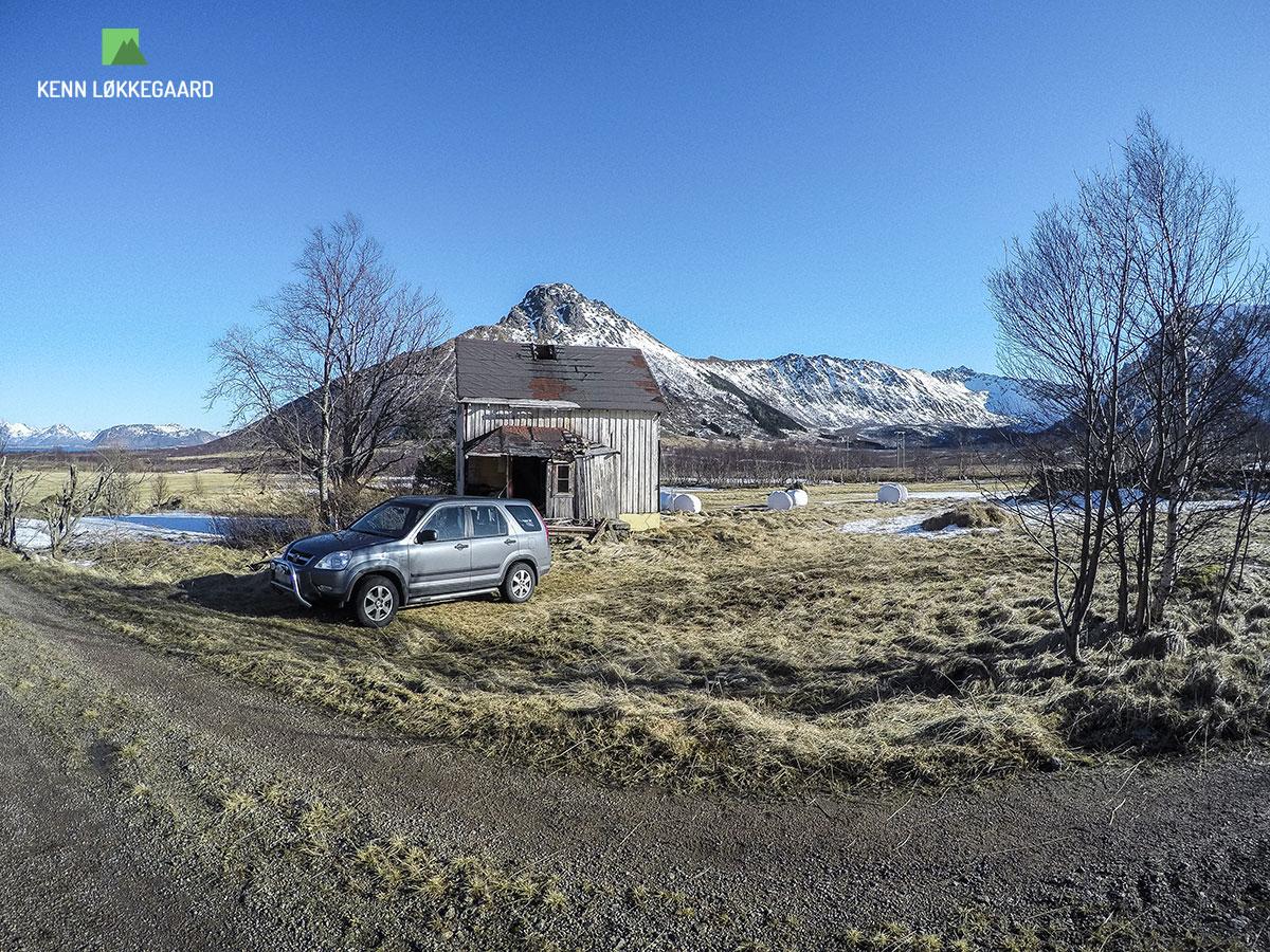 hadseløya trailløb bil