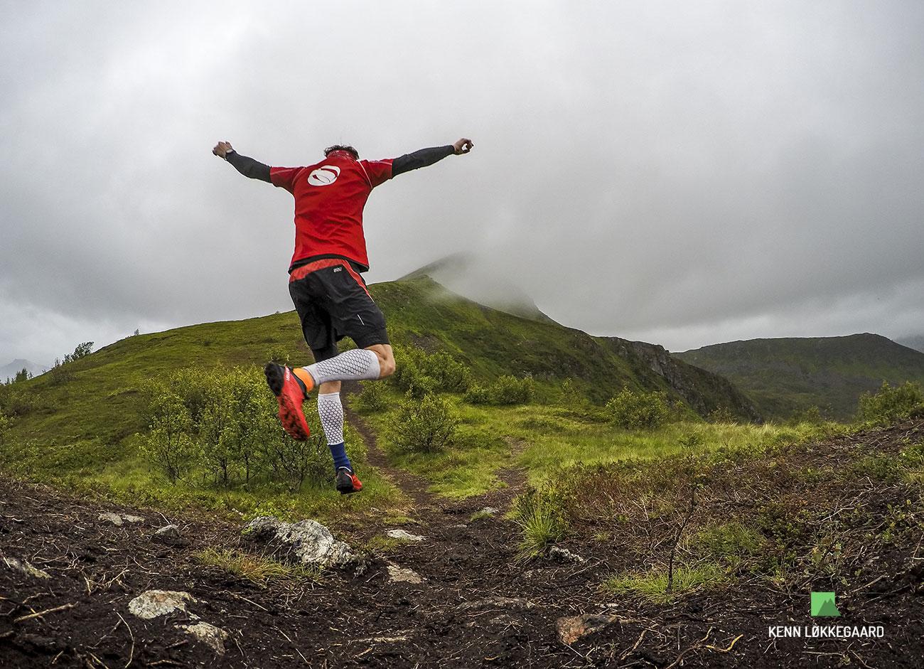 Første løbetur i bjergene efter Tromsø Skyrace