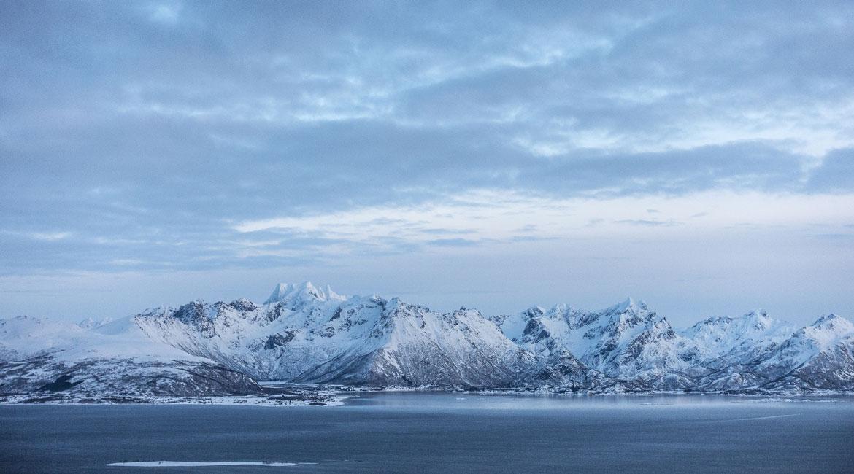 Utsikt til Møysalen fra Klakkheia